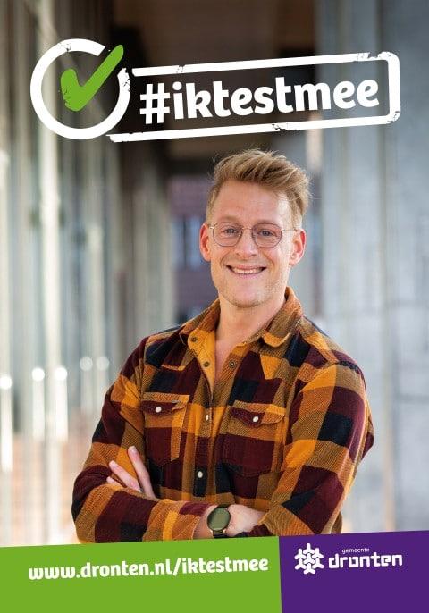 Poster #iktestmee - Geert